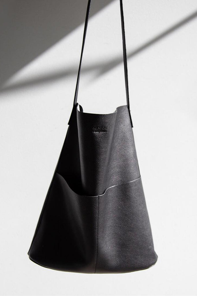 Oak & Fort Faux Leather Tote