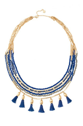 Stella & Dot Tassel Necklace
