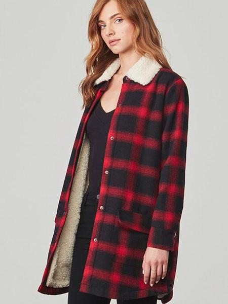 BB Dakota Buffalo Plaid Jacket Sz: XS