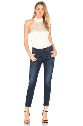 Citizens of Humanity Rocket Crop High Rise Skinny Sz: 25