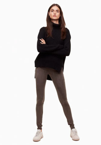 Wilfred Free Suede Daria Leggings Sz. S