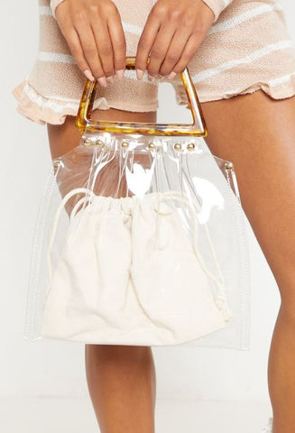 Pretty Little Thing Clear Purse