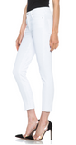 Citizens of Humanity White Rocket High Rise Cropped Skinny Sz. 25