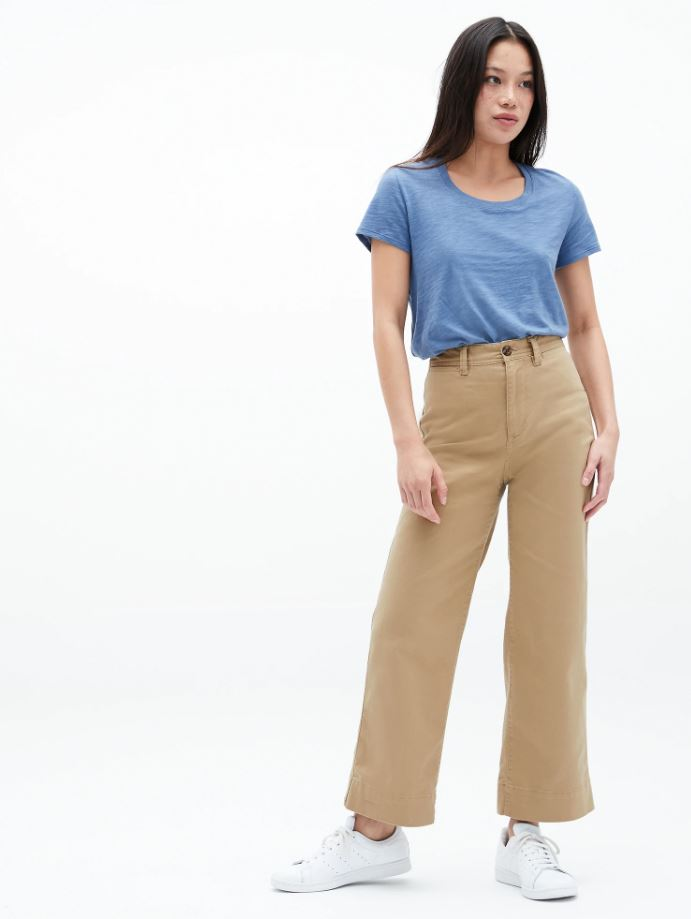 Gap High Rise Khaki Jeans Sz: 0