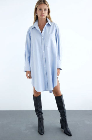 Zara Oversized Button Up Sz: M