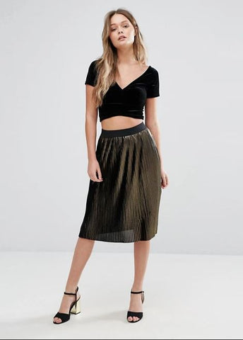 Vero Moda Pleated Skirt Sz. M