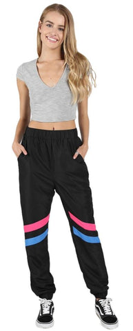 Wild Honey Colourblock Track Pants NWT Sz: L