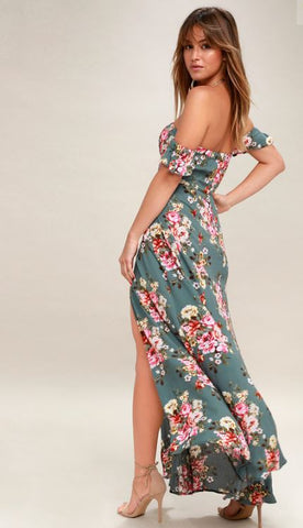 Lulus Primrose Floral Dress Sz: L