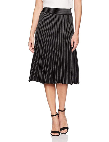Max Studio NWT Striped Knit Skirt Sz: M