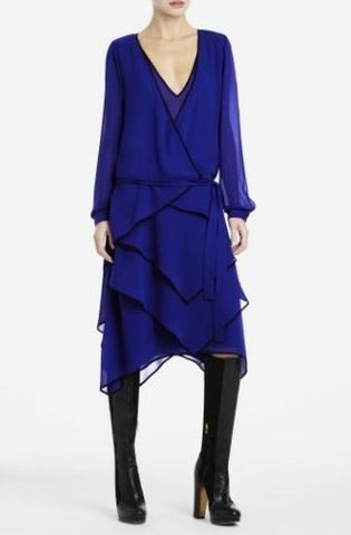 BCBG Lydia Silk Dress Sz: XXS
