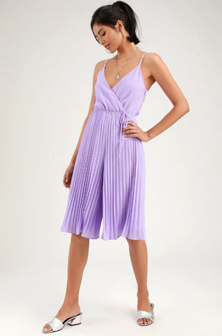 Ali & Jay Pleated Jumpsuit Sz. M