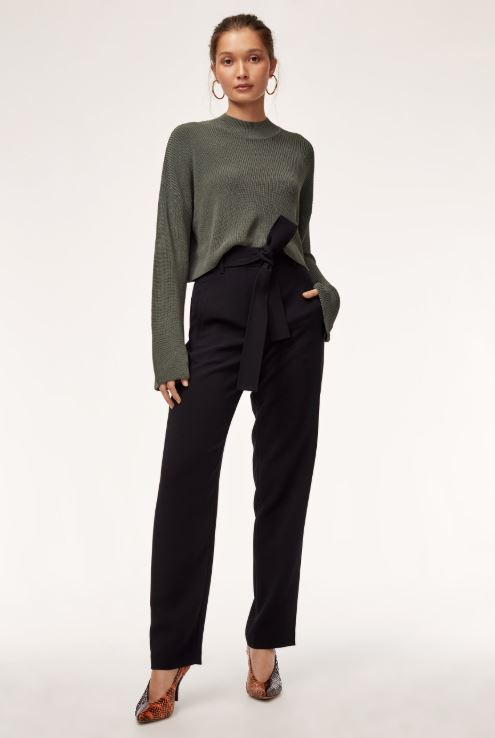 Wilfred Tie-Front Pant Sz: 12 NWT