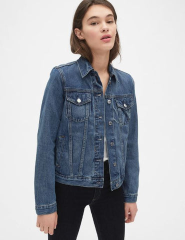 GAP Icon Denim Jacket Sz. L