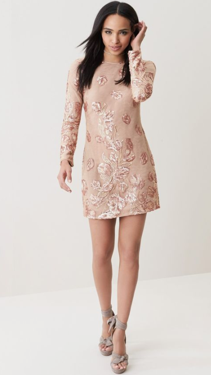 Dress the Population 'Naomi' Lace Minidress Sz: S -NWT!