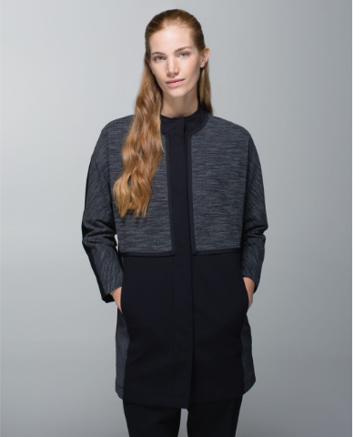 Lululemon Cocoon Car Coat Sz: S/M