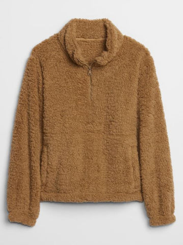 Gap Teddy Pullover Sz: XL