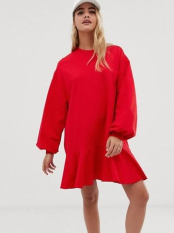 ASOS Oversized Pullover Dress Sz: 00