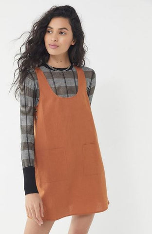 Urban Outfitters Rust Dress Sz: M