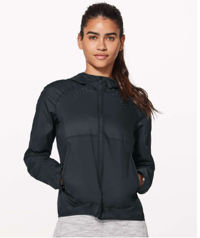 Lululemon Like The Windshell Jacket NTW! Sz: 12