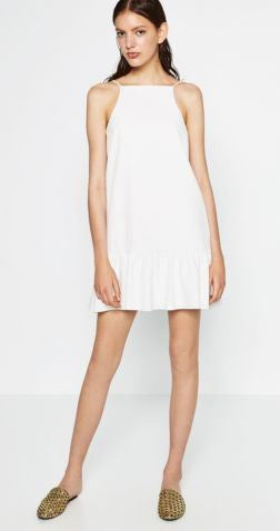 Zara Ruffle Dress Sz: L