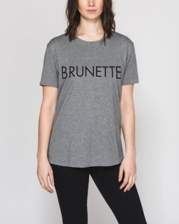 Brunette the Label T- Shirt Sz: S/M