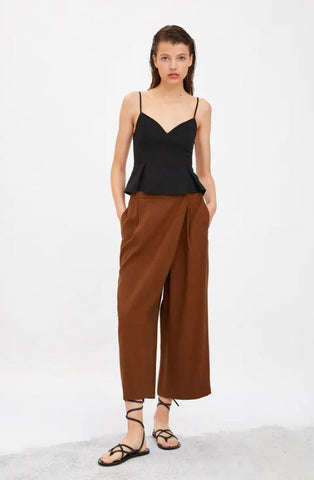 Zara Wrap Trousers Sz. M