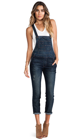 Free People Denim Overall Sz: 27