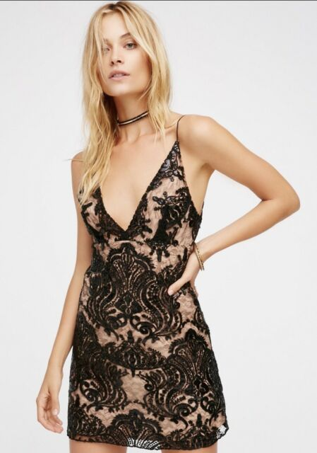 Free People Night Shimmers Dress Sz. 8 NWT!