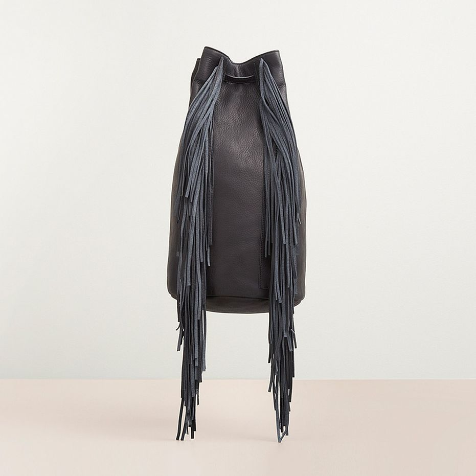 Kenneth Cole Prince Street Leather Fringe Bag