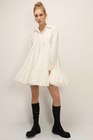 Storets NWT Diana Tiered Dress Sz: S/M