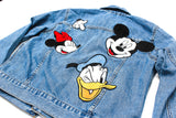 Zara Mickey Mouse Denim Jacket  Sz: S