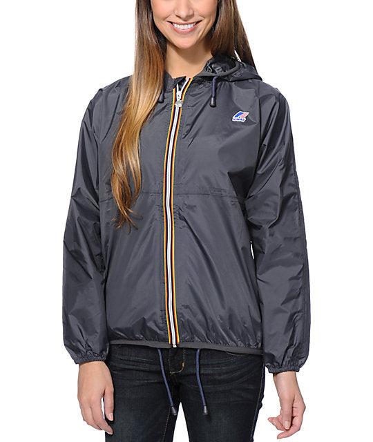 K-Way Claudette Windbreaker Jacket Sz: S