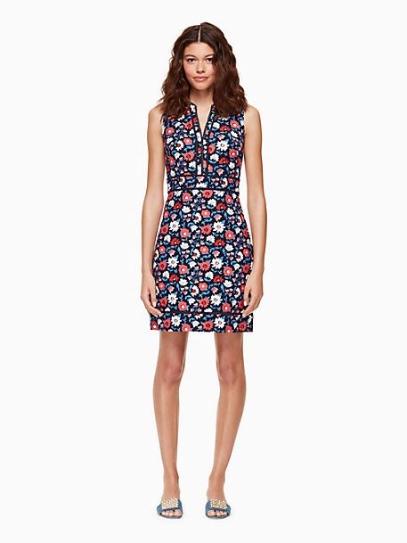 Kate Spade Shore Thing Daisy Sheath Dress Sz: 2