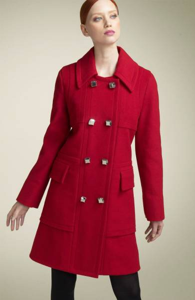 Marc by Marc Jacobs Red Coat Sz: S