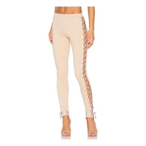 Fenty Nude Lace Up Pants Sz. S