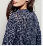 Free People Chunky Knit Sweater Sz: XS