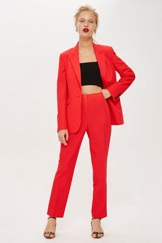 TopShop Red Blazer (New with tags) Sz. 6