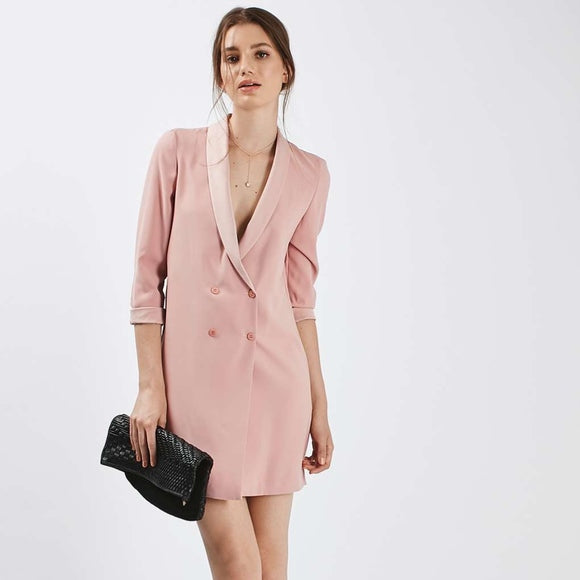 Topshop Blazer Dress Sz: US 6