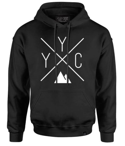 Local Laundry YYC Black Hoodie Sz: S