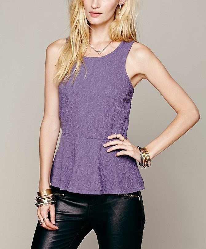 Free People Versailles Top Sz: M