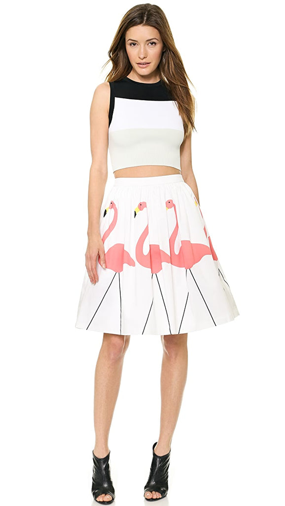 Alice & Olivia Flamingo Skirt Sz: 4