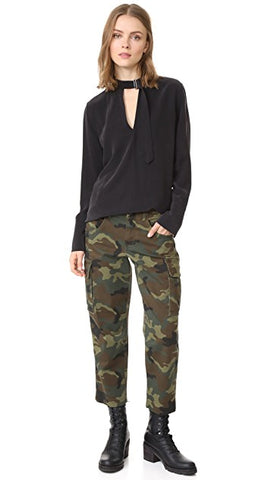 Alice & Olivia Johnsie Army Pants Sz. M