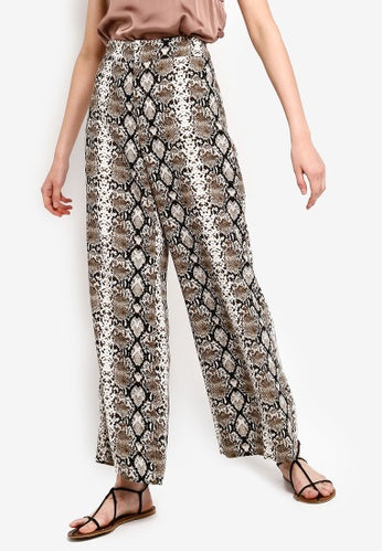 Banana Republic Snake Print Trousers Sz 12