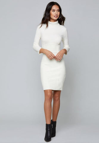 BeBe Pristine Sweater Dress Sz: S