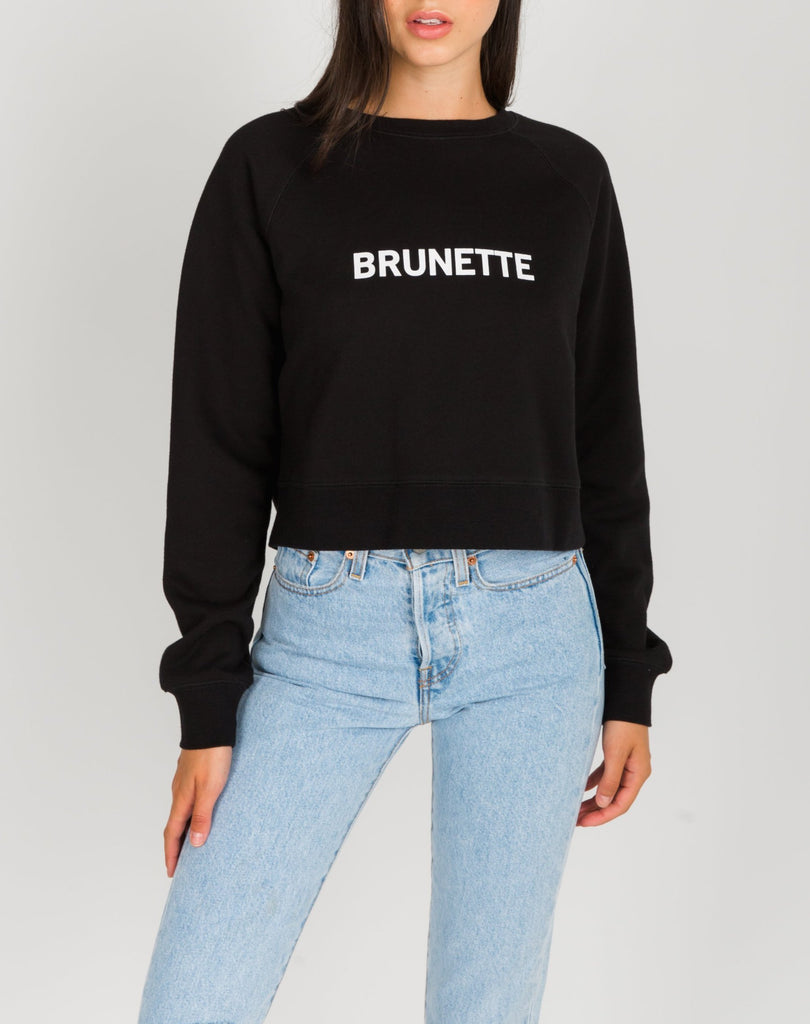 Brunette the Label 'Little Sister' Sweatshirt Sz:XS/S