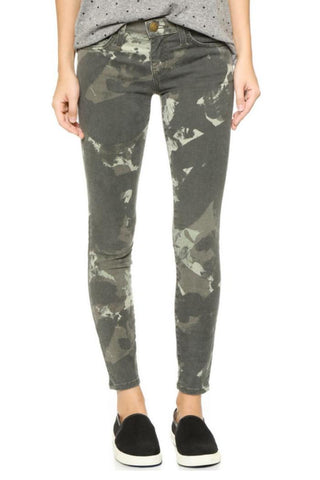 Current Elliott Camo Stiletto Jeans Sz: 26