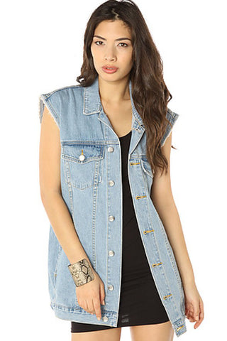 Cheap Monday Taylor Vest Sz. M