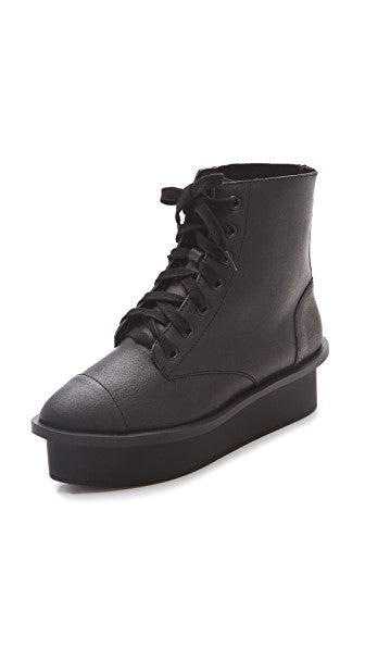 Cheap Monday Flatform Boots Sz: 7