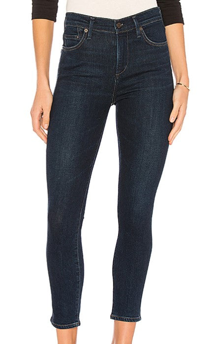 Citizens of Humanity Rocket High Rise Skinny Crop Sz: 28
