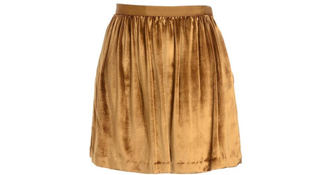 Club Monaco Isabella Gold Skirt Sz. 2